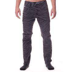 TRUKFITPants | Trukfit Zebra Print Twill Pants|Shop the TRUKFIT Official Store