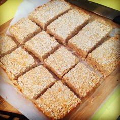 Paleo Lemon Coconut Bars by Allie Mae may be OK on hcg diet