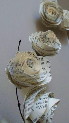 Paper roses, paper roses....
