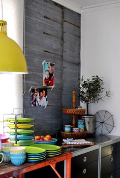1000 images about inspiration bright funky interiors for Funky kitchen accessories uk