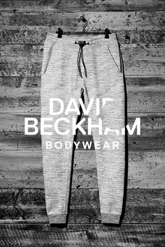 Gray sweatpants, Bodywear Selected By Beckham collection. | H&M For Men