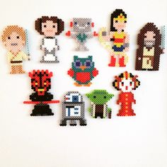 Perler bead magnet collection by stinkybombsoap