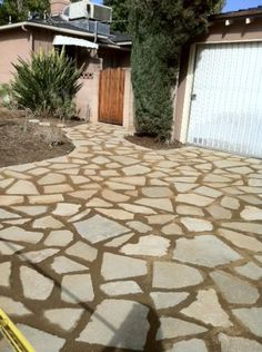 Landscaping Company – Sun Valley, CA – KRM Garden Management recycled concrete driveway