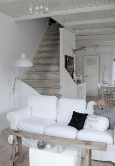 <3 the bleached timber stairs