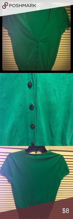 J. Crew Kelly green short sleeve cardigan. Size S. J. Crew Kelly green short sleeve cardigan. Size S. J. Crew Sweaters Cardigans
