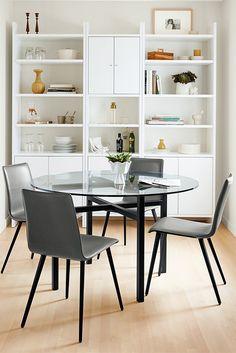 Benson Tables In Natural Steel. Dining FurnitureWood Dining TablesLiving Room  FurnitureEntryway FurnitureKids FurnitureSmall SpacesModern ...