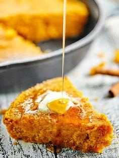 Vegan Pumpkin Cornbread on MyRecipeMagic.com