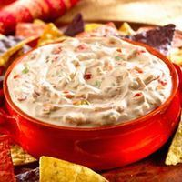Salsa Onion Dip Recipe Appetizers with Lipton® Recipe Secrets® Onion Soup Mix, sour cream, prepared salsa Recipes Appetizers And Snacks, Dip Recipes, Cooking Recipes, Lipton Recipe Secrets Onion, Sour Cream, Cold Dishes, Hungarian Recipes, No Cook Meals, Food Inspiration
