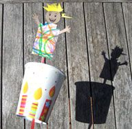Pop-up Puppets Craft Project - Art And Craft - Fun Activities For Kids