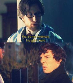 Unaired pilot Anderson. My reaction was the same when I saw the creepy beard too. LOL