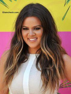 khloe kardashians hair color | Khloe Kardashian Hair color 2013- Dual Toned