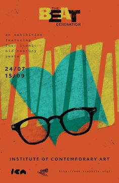 Vintage Poster - jeremie rose - glasses - specs - spectacles - the Beat Generation