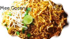 Mee Goreng AYAM | Malaysian Chicken Noodles | Recipes 'R' Simple