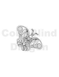 Steampunk Butterfly Coloring Pages Adult Insect Nature