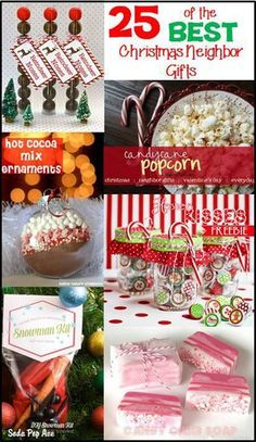 25 Christmas Neighbor Gift Ideas