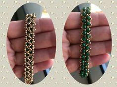 We love taking gentlemen back in time! Earring Tutorial, Bracelet Tutorial, Beaded Jewelry Patterns, Bracelet Patterns, Beading Projects, Beading Tutorials, Handmade Jewelry Bracelets, Unique Jewelry, Diy Jewelry
