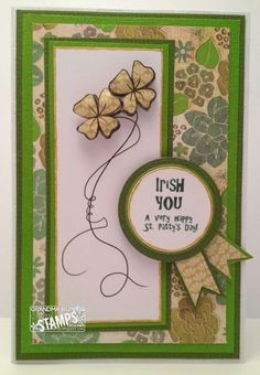 Grandma Bonnie's Place: Sami Stamps new release Shamrock Girls featuring Twisted Shamrocks!
