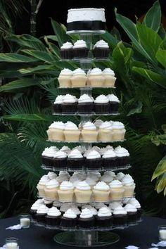 Height Gorgeous Adorable Wedding Cake Cupcakes Idea in Beauty Romantic Design