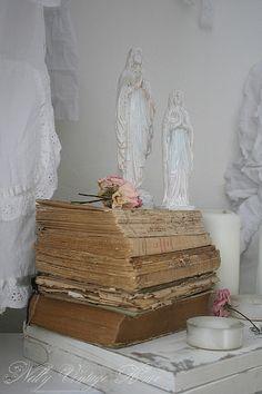 Old books & Madonnas
