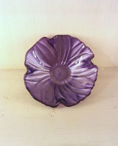 Coppetta Viola diam. 19cm Natural Magnolia / Bowl Purple diam. 19cm Natural Magnolia