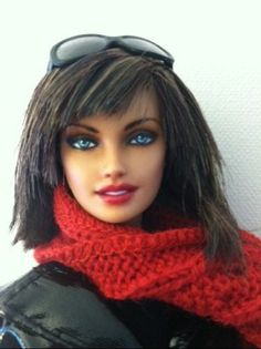 OOAK Painted Barbie Barbie Collector Basics Model 02 Collection 02   eBay