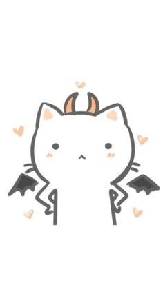 情侣头像壁纸 白猫恶魔 - 堆糖 发现生活_收集美好_分享图片