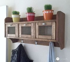hanging storage shelf, diy, home decor, shelving ideas, storage ideas, woodworking projects
