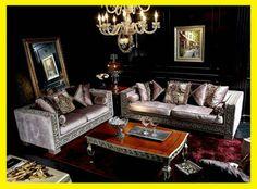 Elegant Living Room Royal Design Fabric Sofa Set Top Quality Italian Style Luxury Sofa Furniture