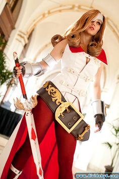 *Final Fantasy IX Beatrix Cosplay