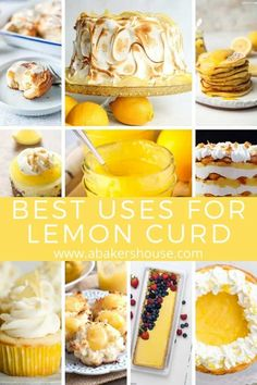 40 + Recipes that use Lemon Curd! You are in the right place to find the best uses for lemon curd! Here is a list of lemon curd recipes that will satisfy your craving for all things lemon. Over 40 easy lemon curd recipes! Recipes Using Lemon Curd, Lemon Curd Uses, Recipe Using Lemons, Vegan Lemon Curd, Easy Lemon Curd, Lemon Curd Filling, Lemon Mousse, Lemon Recipes, Recipes With Lemon Curd