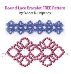 Free Pattern - Round Lace Bracelet