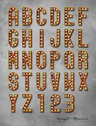marquee letters - Google Search