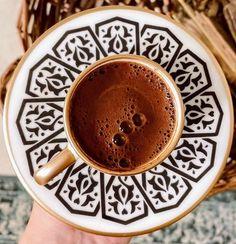 Turkish Coffee, We Heart It, Latte, Chocolate, Drinks, Tableware, Food, Drinking, Beverages