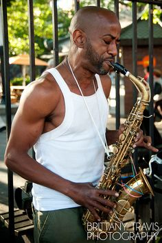 Sax on the the Lower East Side by Brittany Travis,
