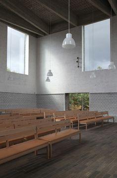 Johan Celsing Arkitektkontor, Ioana Marinescu · Årsta Church. Stockholm, Sweden · Divisare