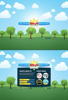 Mojo Designo Website Templates by Ares
