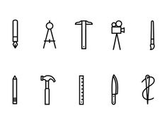 Makers Icon Set by Lauren Jochum