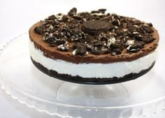 oreo dort s mascarpone Sweet Recipes, Cake Recipes, Dessert Recipes, Oreo Torta, Oreo Cheesecake, Ice Cream Recipes, Cheesecakes, No Bake Cake, Food And Drink