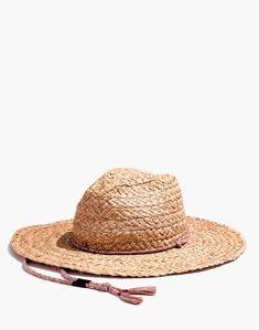 cfbd59e9f14 Madewell x Biltmore® Braided Fedora Hat : hats   Madewell Biltmore Hats,  Headgear,