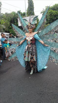 Arak-arakan Pekan Batik Nusantara 2016 Caribbean Carnival Costumes, Dresses, Gowns, Dress, Day Dresses, Clothing, The Dress, Skirts
