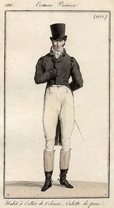 """Men's ensemble with black velvet jacket, In case you didn't read that article (you should, it's great), here's what Masonic books depict the """"sign of the Master of the Veil"""". Regency Fashion, 1800s Fashion, Vintage Fashion, Mens Fashion, Medieval Fashion, Parisian Fashion, French Fashion, Ladies Fashion, Gothic Fashion"""