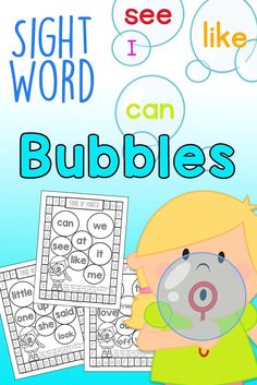 FREEBIE!! This Free Pack covers PrePrimer and Primer Sight Words. No-Prep, Hands-On Learning Fun from KindergartenMom.com