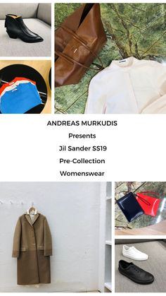 The atmosphere in ANDREAS MURKUDIS captures a freedom and tranquility that sets it apart from the usual, fast-paced retail world. Jil Sander, Women Wear, Digital, Collection