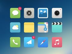 Dribbble_400 - I like the mail app icon :-D
