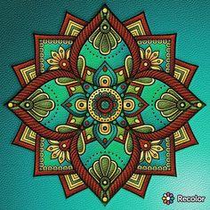 #mandala #recolor #coloring #meditation #spiritual #breathe