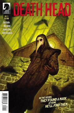 """Dark Horse Comics: """"Death Head"""" #1 Review - Nerd Underground"""