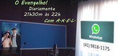 Dia 13, às 21h30m, Akel retorna Ao Vivo