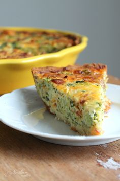 This delicious low-carb Broccoli Cheddar Bacon Quiche is fantastic for breakfast, lunch, or supper! Gluten-free, keto, and Trim Healthy Mama S friendly.