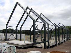 Barn House Design, Modern Barn House, Modern House Design, A Frame House Plans, Barn House Plans, Steel Building Homes, Building A House, Steel Frame House, Casas Containers