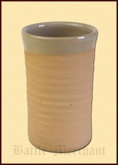 High Medieval Drinking Cup from Clay, 0.5l